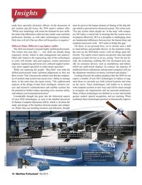 Maritime Logistics Professional Magazine, page 16,  Q3 2015