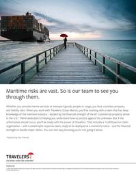 Maritime Logistics Professional Magazine, page 2nd Cover,  Q3 2015