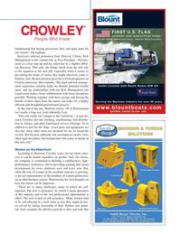 Maritime Logistics Professional Magazine, page 25,  Q3 2015