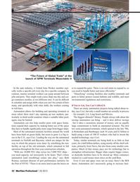 Maritime Logistics Professional Magazine, page 32,  Q3 2015