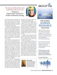 Maritime Logistics Professional Magazine, page 33,  Q3 2015