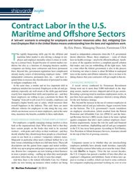 Maritime Logistics Professional Magazine, page 56,  Q3 2015