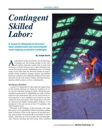 Maritime Logistics Professional Magazine, page 61,  Q3 2015