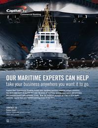 Maritime Logistics Professional Magazine, page 5,  Q3 2015