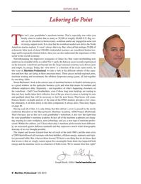 Maritime Logistics Professional Magazine, page 8,  Q4 2015