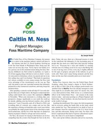 Maritime Logistics Professional Magazine, page 14,  Q4 2015