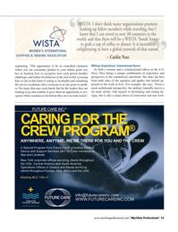 Maritime Logistics Professional Magazine, page 15,  Q4 2015