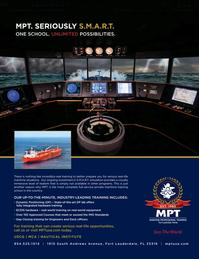 Maritime Logistics Professional Magazine, page 2nd Cover,  Q4 2015