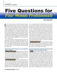 Maritime Logistics Professional Magazine, page 18,  Q4 2015
