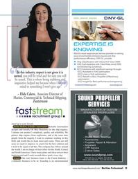 Maritime Logistics Professional Magazine, page 19,  Q4 2015