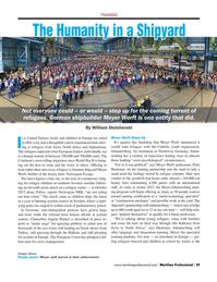 Maritime Logistics Professional Magazine, page 29,  Q4 2015