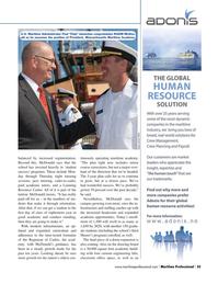 Maritime Logistics Professional Magazine, page 35,  Q4 2015