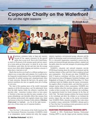 Maritime Logistics Professional Magazine, page 52,  Q4 2015