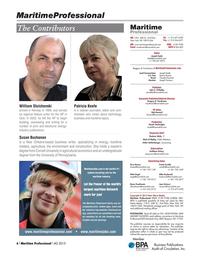Maritime Logistics Professional Magazine, page 6,  Q4 2015