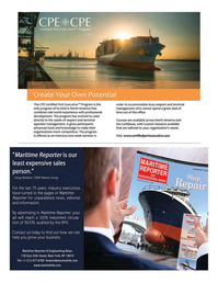 Maritime Logistics Professional Magazine, page 9,  Q1 2016