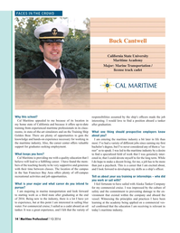 Maritime Logistics Professional Magazine, page 14,  Q1 2016