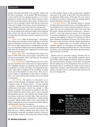 Maritime Logistics Professional Magazine, page 20,  Q1 2016
