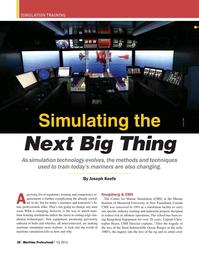 Maritime Logistics Professional Magazine, page 30,  Q1 2016