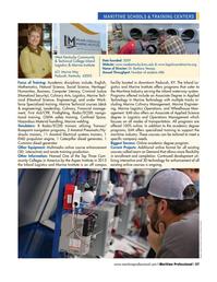 Maritime Logistics Professional Magazine, page 57,  Q1 2016