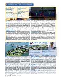 Maritime Logistics Professional Magazine, page 58,  Q1 2016