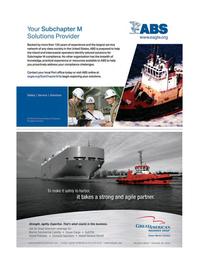 Maritime Logistics Professional Magazine, page 5,  Q1 2016