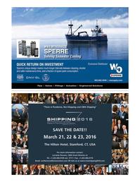 Maritime Logistics Professional Magazine, page 7,  Q1 2016