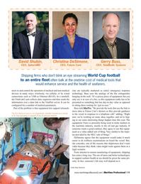 Maritime Logistics Professional Magazine, page 11,  Q2 2016