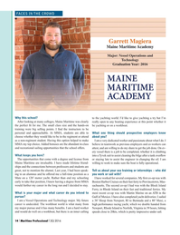 Maritime Logistics Professional Magazine, page 14,  Q2 2016