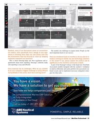 Maritime Logistics Professional Magazine, page 21,  Q2 2016