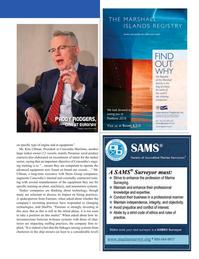 Maritime Logistics Professional Magazine, page 25,  Q2 2016