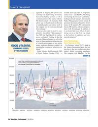 Maritime Logistics Professional Magazine, page 26,  Q2 2016