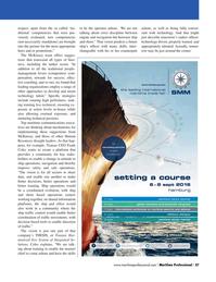 Maritime Logistics Professional Magazine, page 27,  Q2 2016
