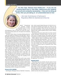 Maritime Logistics Professional Magazine, page 34,  Q2 2016