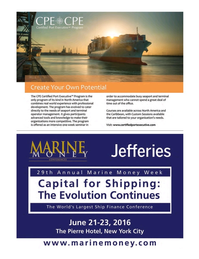 Maritime Logistics Professional Magazine, page 37,  Q2 2016
