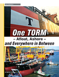Maritime Logistics Professional Magazine, page 40,  Q2 2016