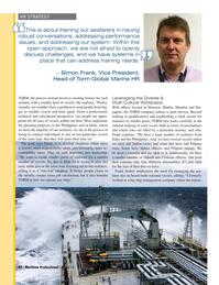 Maritime Logistics Professional Magazine, page 42,  Q2 2016