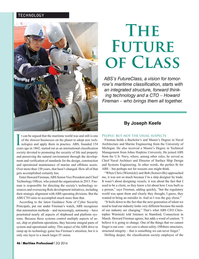 Maritime Logistics Professional Magazine, page 46,  Q2 2016