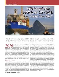 Maritime Logistics Professional Magazine, page 54,  Q2 2016