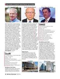 Maritime Logistics Professional Magazine, page 58,  Q2 2016