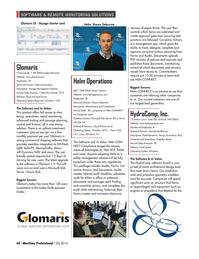 Maritime Logistics Professional Magazine, page 60,  Q2 2016