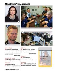Maritime Logistics Professional Magazine, page 6,  Q2 2016