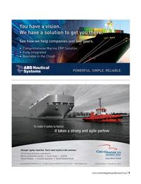 Maritime Logistics Professional Magazine, page 9,  Q3 2016