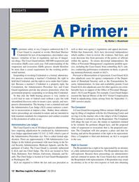 Maritime Logistics Professional Magazine, page 12,  Q3 2016