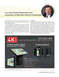 Maritime Logistics Professional Magazine, page 13,  Q3 2016