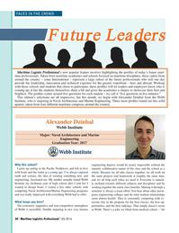 Maritime Logistics Professional Magazine, page 20,  Q3 2016