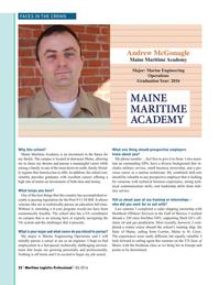 Maritime Logistics Professional Magazine, page 22,  Q3 2016