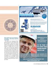 Maritime Logistics Professional Magazine, page 25,  Q3 2016
