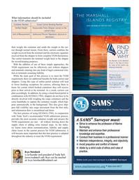 Maritime Logistics Professional Magazine, page 33,  Q3 2016