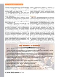 Maritime Logistics Professional Magazine, page 36,  Q3 2016