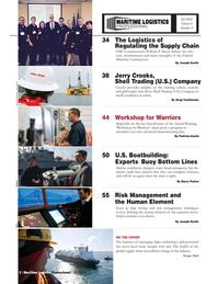 Maritime Logistics Professional Magazine, page 2,  Q3 2016